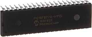 Microchip PIC16F877A-I/P Microcontroller, 8-Bit PIC, 16 RISC, 14.3KB Flash, 5V, 40 Pin, Plastic Dip Tube, 3.81 mm H x 52.2...