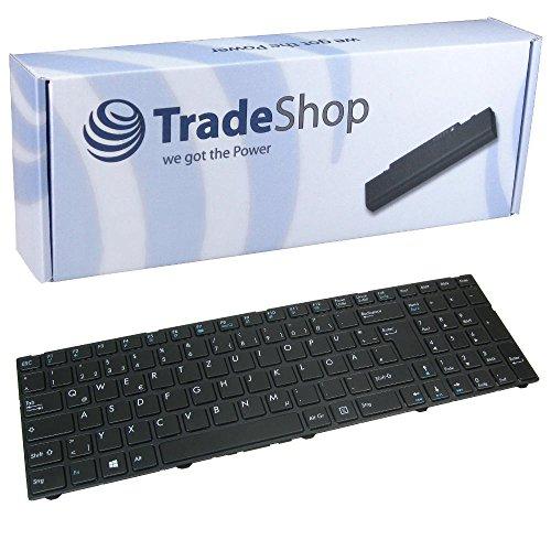 Laptop-Tastatur Notebook Keyboard Deutsch QWERTZ für Medion Akoya P6643 P6647 P7627 P7627T P7628 P7631 P7631T P7632 P7641 MD98457 MD98458 MD98459