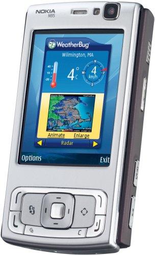 Nokia N95 deep plum Smartphone (Importato da Germania)