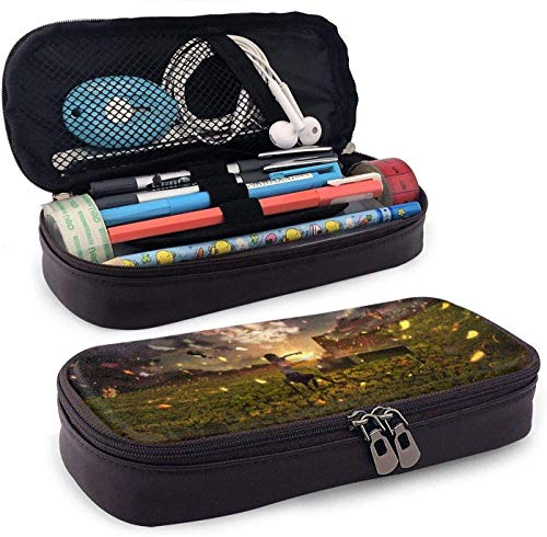 Gsixgoods Mäppchen Pencil Case Big Capacity High Capacity Pen Pencil Pouch Box Organizer Practical Bag Holder with Zipper for School & Office Playing The Piano