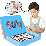 Learning Numbers & Colors Puzzle,Magnetic Toys-Floor Puzzles for Kids Ages 3-5,Toddler Learning Puzzle Set Which is Suitable for Boys and Girls to Use Their Imagination and Good Hands