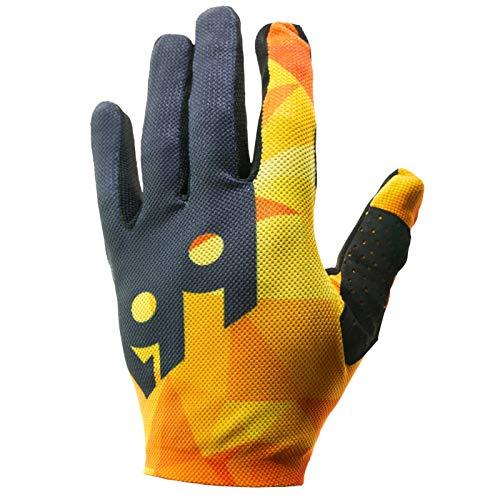 SixSixOne Raji Handschuhe Herren geo orange Handschuhgröße XS | 7 2020 Fahrradhandschuhe