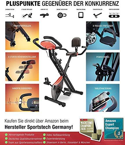 Fitness Trainingsrad Sportstech X100B / X150 X Bild 2*