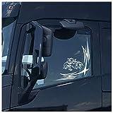 Finest Folia D062 - Adhesivo decorativo para ventana de camión, diseño de grifo