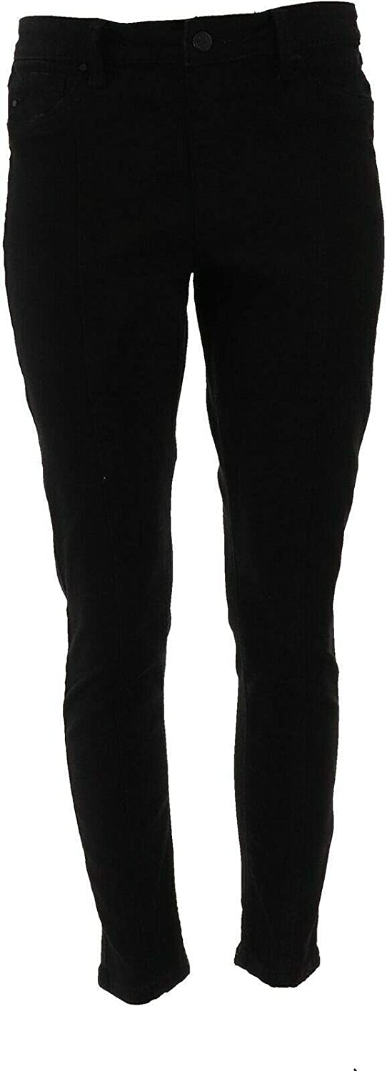 Laurie Felt Silky Denim Ankle Skinny Jeans Seam A372262