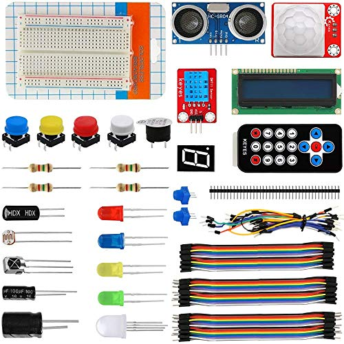 DONDOW Kit de componentes básicos 501A compatible con aficionados electrónicos