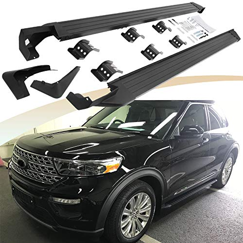Snailfly Fit for 2020 Ford Explorer Side Steps Running Boards Footboard