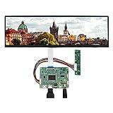 VSDISPLAY 12.6' NV126B5M-N41 12.6inch1920X515 LCD Screen Work with 2 HD-MI Mini LCD Controller VS-RTD2556HM-V1