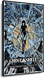APAZSH Lienzos Decorativos Ghost In The Shell, Poster de películas, Arte de Pared, Lienzo para el hogar, Cuadros Impresas, Pinturas Modernas 40x60cm x1 Sin Marco