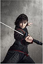 Into the Badlands Ally Ionnides as Tilda with sword raised ahead of her 8 x 10 Inch Photo