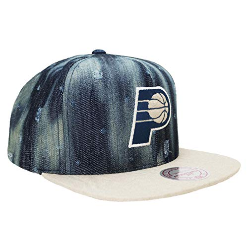 Mitchelle & Ness Indiana Pacers Torn Denim Snapback Hat