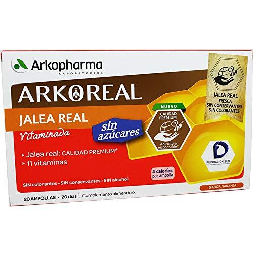 ARKOREAL JALEA REAL SIN AZUCAR 20 AMPLLAS