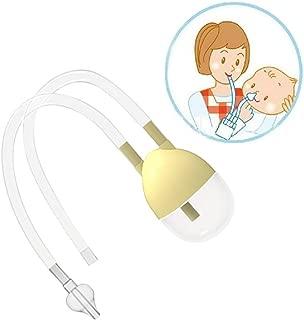 Sincerestore 鼻吸い器 鼻水吸引器 お口で吸うタイプの鼻すい器 0歳から対象 (イエロー)