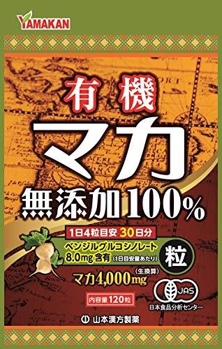 山本漢方製薬 マカ粒100%NB 120粒