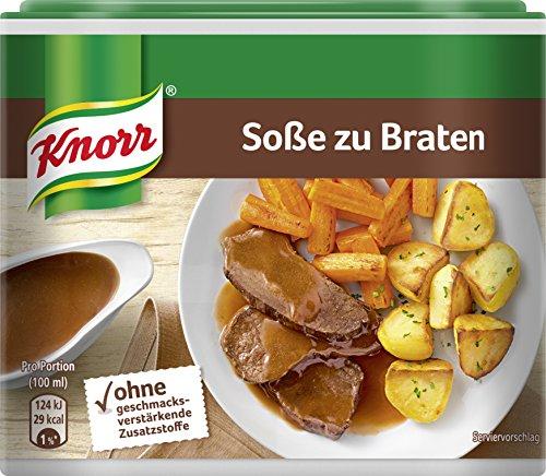 Knorr Würzbasis Soße zu Braten ohne geschmacksverstärkende Zusatzstoffe 253 g, 1 Stück