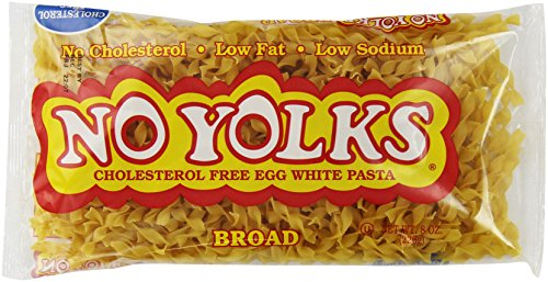 No Yolks Broad Egg Noodles, 8 Oz