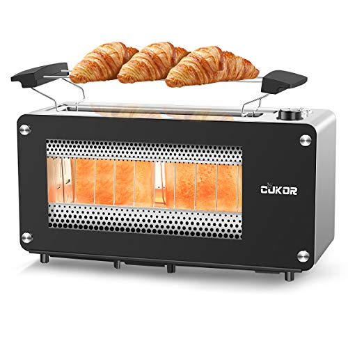 CUKOR Bagel Toaster with Warm Rack