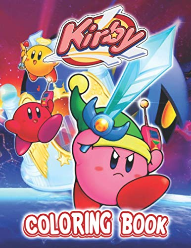 Kirby Coloring Book: Useful Item For Relaxation And Stress Relief With Many Images Of Kirby