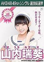 【山内瑞葵 AKB48 研究生】 AKB48 願いごとの持ち腐れ 劇場盤 特典 49thシングル 選抜総選挙 ポスター風 生写真