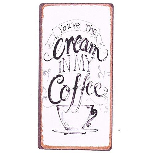 Magnete per frigorifero – Calamita in stile antico 5 cm x 10 cm – Grande scelta Magnete: 5458 – You'RE The Cream in My Coffee