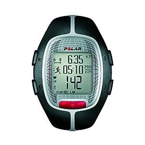 Muestra las calorías consumidas Incluye monitor de frecuencia cardiaca Bloqueo de botones, indicador de batería baja Hora (12/24 h) con alarma visual y sonora Resistente al agua - 30 m Con indicador de fecha y día de la semana