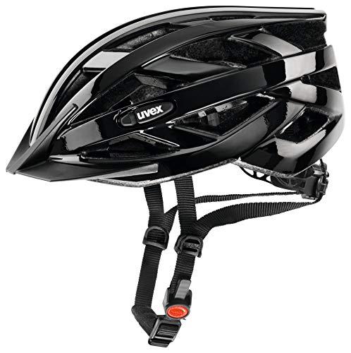Uvex I-Vo Casco de Ciclismo, Unisex Adulto, Black, 52-57 cm