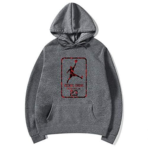YDMZMS Brand Fashion 23 Mannen Sportswear Print Heren Hoodies Pullover Heren Trainingspak Sweatshirts Kleding XXL Dark Grey 79