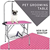 LEIBOU Pet Dog Grooming Table Foldable Grooming Table Heavy...