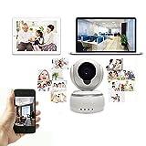 IP Cam P2P - Telecamere Di Sorveglianza Wifi Videocamera Hd Sport Camera IP Camera Wifi Motorizzata - HE92 Supporto Per La Rilevazione Mobile & Allarme Senza Fili Di Sostegno