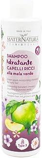 Maternatura Shampoo Idratante Capelli Ricci alla Mela Verde - Bio - Made In Italy - 250 ml