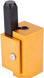 Cincel de esquina bisagra cuadrada empotrada Cerradura de puerta Ranura Cincel angular Herramienta de carpintería para la...