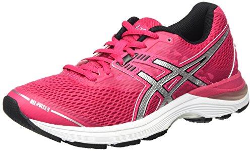 Asics T7D8N2093, Zapatillas de Running Mujer, Rosa (Cosmo Pink/Silver/Black), 37.5 EU
