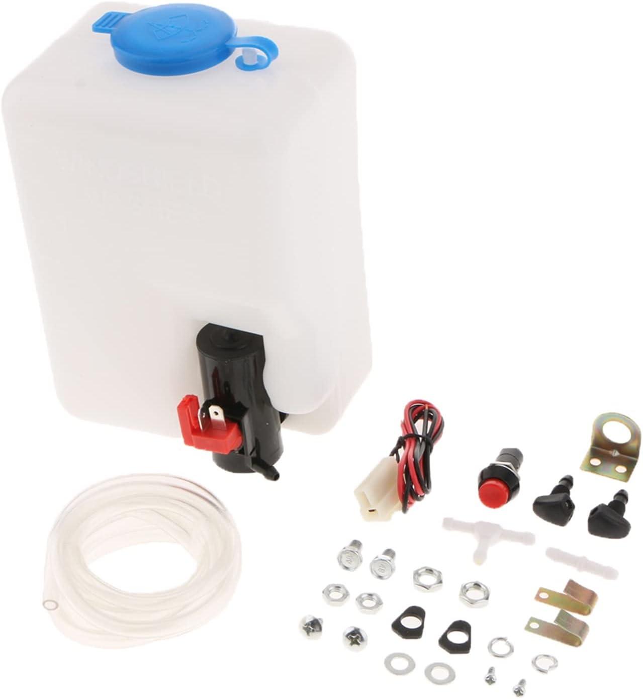 MNAD El Paso Mall Discount is also underway Car Windshield Glass Wiper Universal Washer System Reservoi