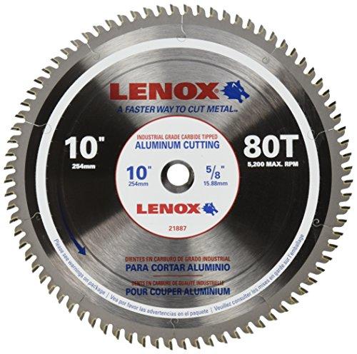 Lenox tools 21887al100080ct metal cutting circular saw blade 10 purchase lenox tools 21887al100080ct metal cutting circular saw blade 10 inch by 80 teeth greentooth Gallery