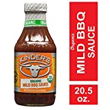 Kinder's Organic Mild BBQ Sauce, 20.5 oz.; Smoky-Sweet Twist on Classic Barbeque Sauce is Certified Organic, Gluten-Free, No MSG or High Fructose Corn Syrup for Dipping, Grilling or Seasoning Any Meat
