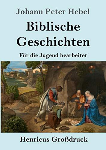 Biblische Geschichten (Großdruck): Für die Jugend bearbeitet