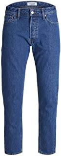Jack & Jones Men's Jjifred Jjoriginal Cr 098 Jeans, in Blue Denim, Size: 32inches