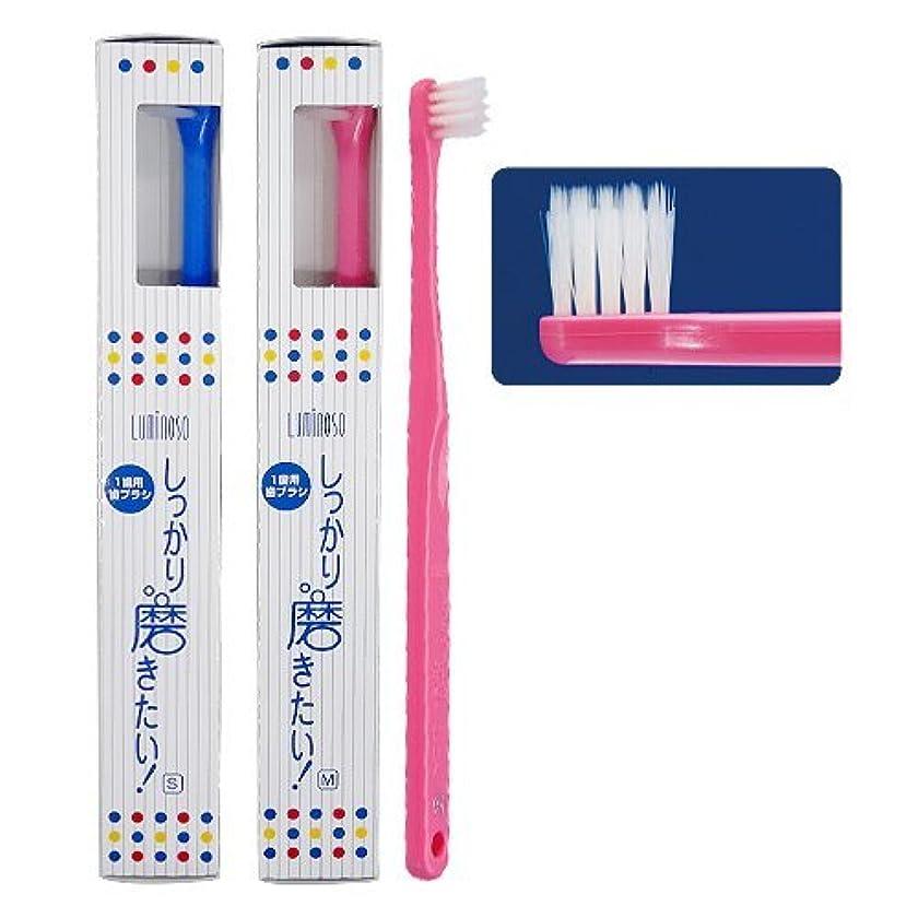 ラケットオセアニア協力するルミノソ 1歯用歯ブラシ「しっかり磨きたい!」スタンダード ソフト (カラー指定不可) 10本