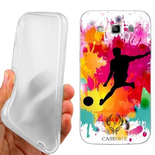 Custodia Cover Case Calcio Maschile per Samsung Galaxy S3 Neo i9301