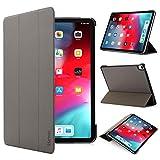 iHarbort iPad Pro 11 inch 2018 Hülle Cover - Ultra dünn Hülle Etui Schutzhülle Holder Stand mit Smart Auto Wake/Sleep Funktion, Grau
