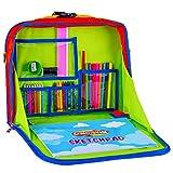 Creative Kids Travel Fun Desk – Portable Car Seat Tray Organizer w/Drawing Coloring Set ...
