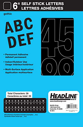 10 best decal letters black for 2021