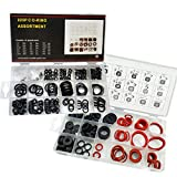 141 PCS Rubber Sealing Washer Kit with 225 PCS Faucet O-Rings Gasket Seal Assortment Set,34 Different Assorted Sizes