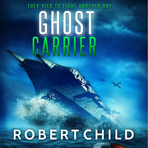 Ghost Carrier audiobook cover art