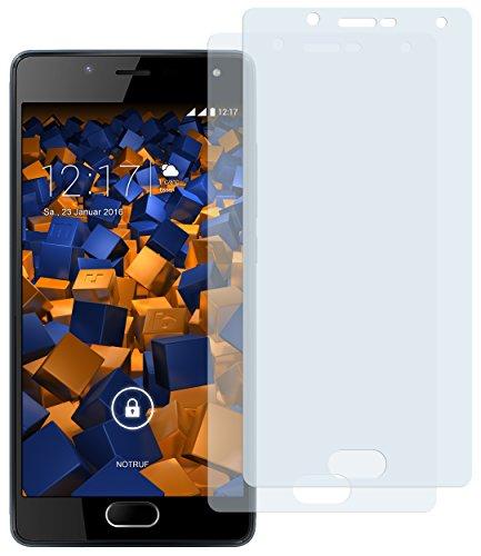 mumbi Schutzfolie kompatibel mit Wiko U Feel Lite Folie klar, Bildschirmschutzfolie (2X)