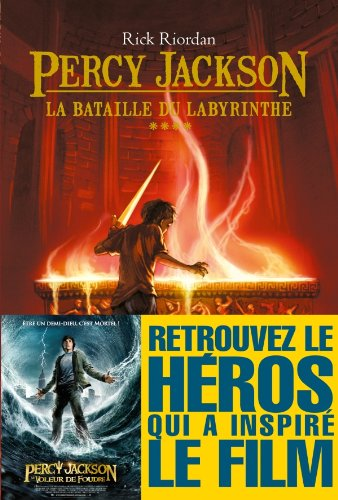 La Bataille du labyrinthe : Percy Jackson - tome 4 (Wiz) (French Edition)