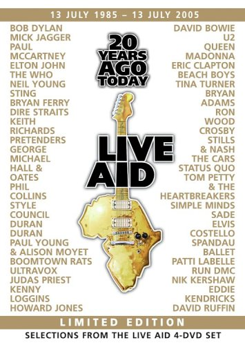 Live Aid 20 Years Ago Today - Selections From the Four Disc Set