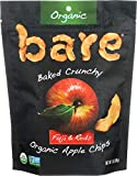 Contains 1 - 3.3oz Bags Bare Organic Fuji Red Apple Chips are sweet, crunchy and organically delicious. Low calorie, high fiber, fat-free, no sugar added, low sodium, cholesterol-free No additives, no preservatives, GMO-free Made with 100% fruit and ...