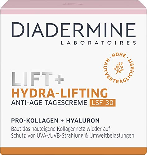 DIADERMINE Lift+ Hydra-Lifting Tagespflege Tagescreme LSF30, 1er Pack (1 x 50ml)