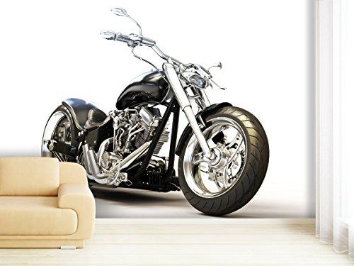 XXL-Tapeten Fototapete Motorcycle - weitere Größen und Materialien wählbar - DEUTSCHE Profi QUALITÄT von Trendwände